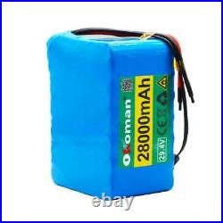 Ebike Battery 28000mAh lithium battery wheelchair electric bicycle 2A charger
