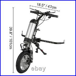 Electric Handcycle Scooter 36V 350W Electric Attachable Handcycle for Wheelchair