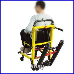 Electric Motorized Stair Climbing WheelChair Lifting Vehicle Walker Foldable