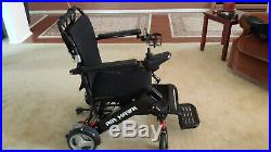 Electric wheelchair-Air Hawk EZ Fold. Only weighs 41 lbs without batteries