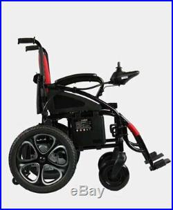 FDA Approved Foldable Lightweight BATTERY ELECTRIC WHEELCHAIR Red