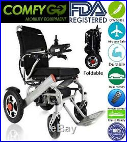 Fold N Go Premium Lithium Battery 7001 Grey Strong Electric Wheelchair