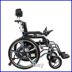 Foldable Lightweight Portable Dual Battery 24V 20Ah Electric Power Wheelchair