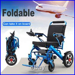 Folding Lightweight Electric Power Wheelchair Mobility Aid Motorized 2 Types