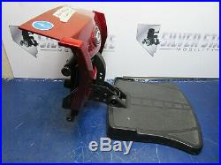 Footrest Quantum Q6 Edge Power Wheelchair Assy With Mount & Battery Cover #3047
