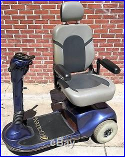 Golden Companion II 3 Wheel Mobility Scooter (Power Chair) 350lb Needs Battery
