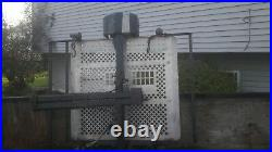 Harmar AL500 electric wheelchair outside lift for 1.25 hitch & 25' power cable