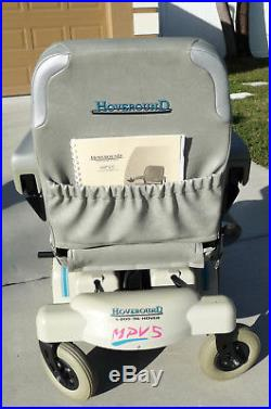 Hoveround MPV5 Power Wheelchair, New Batteries, Exc. Cond. 300 lb patient