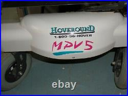 Hoveround Mpv5 Mobility Power Chair Works Great New Batteries