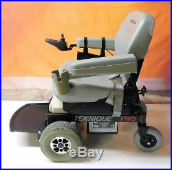 Hoveround Teknique FWD Power Wheelchair Brand New Batteries & Casters