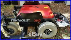 Hoveround Teknique XHD Power Chair Wheelchair Mobile Scooter NEW TIRES & BATTERY