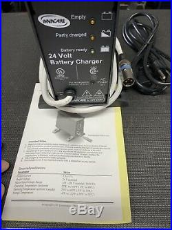 INVACARE 24V Wheelchair Battery Charger. Model BAT-GC0811