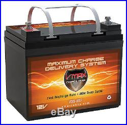 INVACARE COMP VMAX MB857 AGM WHEELCHAIR HiCAP 35AH U1 Battery N51 P7E POWER 9000