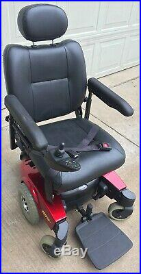 INVACARE PRONTO M61 POWER WHEEL CHAIR with SURE STEP EXC. COND. NEW BATTERIES