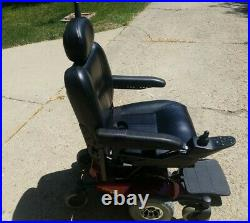 InvaCare Pronto M41 Mobility Chair, Red, Great condition, New Batteries