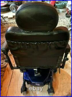 InvaCare Pronto M41 Motorized Power Wheel Chair-Office WithBattery Charger 6-Wheel