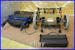 Invacare At'm Take Along Folding Electric Power Wheelchair NEW BATTERIES