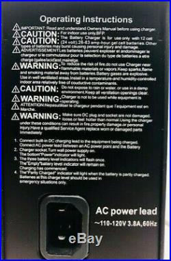 Invacare Off-board Battery Charger 24V/8A For Power Wheelchair/Scooter