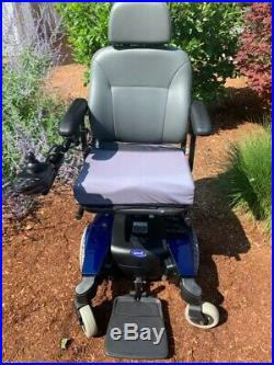 Invacare Pronto M61 Power Wheelchair with 7 seat elevator and new batteries