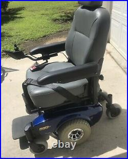 Invacare Pronto M71 with SureStep Power Wheelchair New Gel Batteries 300 lbs