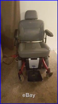Invacare TDX SI Heavy Duty Power Wheelchair HD NEW BATTERIES