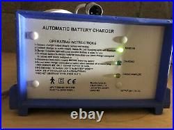 J M Clarke Mobility Scooter or Powerchair 24v Automatic Battery Charger