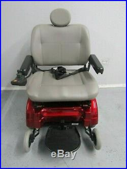 JAZZY 1170 XL PLUS POWER WHEELCHAIR With NEW BATTERIES (500 IB) CAPACITY