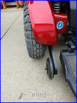 JAZZY 1450 BARIATRIC POWERCHAIR NICE CONDITION 26 SEAT Batteries Included