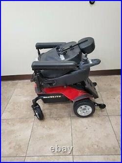 JAZZY Select Elite Red ELECTRIC WHEELCHAIR by Pride Mobility New Batteries 19