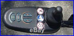 Jazzy 600 Power Wheelchair With 2 New 55 Ah Batteries. / For Parts Repair-