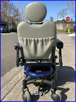 Jazzy 600 XL Electric Wheelchair NEW BATTERY Electric Mobility chair