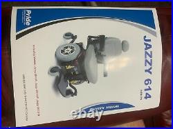 Jazzy 614 Power Chair by Pride Mobility. Good Tires & Batteries