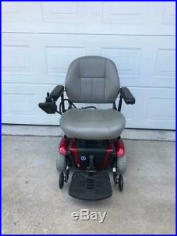 Jazzy Jet 3 Ultra Power Chair With 18X18 Captains Seat. New Batteries