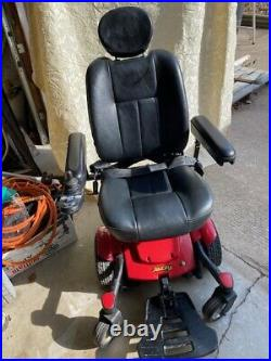 Jazzy Powered Scooter Wheelchair, Red. NEW BATTERIES
