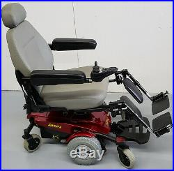 Jazzy Red Select 6 Ultra, Electric Scooter, Leg Elevators, New Batteries, MAINE
