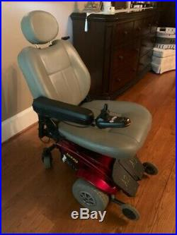 Jazzy Red Select Power Chair with New Batteries Smooth Ride