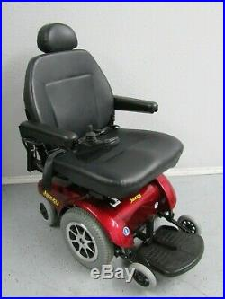 Jazzy Select 14 XL Front Wheel Drive Power Wheelchair, 400 Lbs Cap. New Batteries