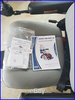 Jazzy Select 14 XL Front Wheel Drive Power Wheelchair, 400 Lbs New Batteries