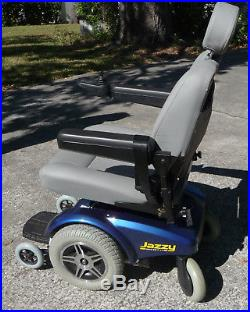 Jazzy Select 14XL Pride Power Wheelchair New Batteries, Exc. Cond. 350 lb patient