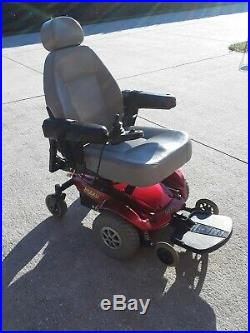 Jazzy Select Electric Wheelchair (New Batteries12/4/19)Red Powerchair & Charger