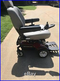 Jazzy Select Elite Electric Wheelchair (New Batteries) Red Powerchair & Charger
