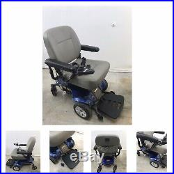 Jazzy Select Elite Power Chair. (New Batteries) Blue Power chair & Charger
