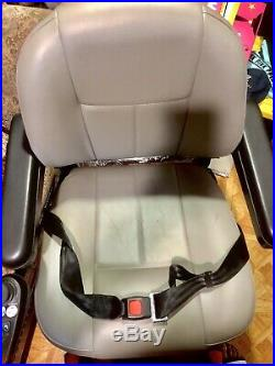 Jazzy Select Elite Power Chair. (New Batteries) Red Powerchair