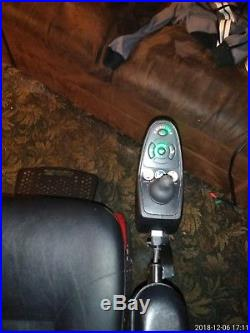 Jazzy Select Elite Power Chair. (New Batteries) Red oversized powerchair