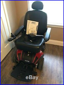 Jazzy Select Elite Power Chair New batteries, has charger and owner's manual