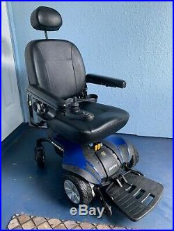 Jazzy Select Elite Power Wheelchair BLUE New Battery Other Parts SEE DESCRIPTION