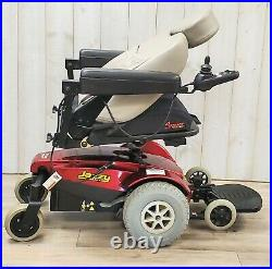 Jazzy Select Power Wheelchair Captain's Seat New Batteries Installed