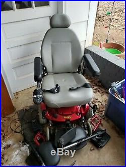 Jazzy Select Power Wheelchair Unknown Issue Batteries Connection Wires