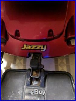 Jazzy power chair with brand new batteries