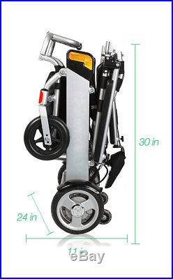 Karman Tranzit Go, Powerchair, Weighs ONLY 46 lbs with battery Supports 264 lb
